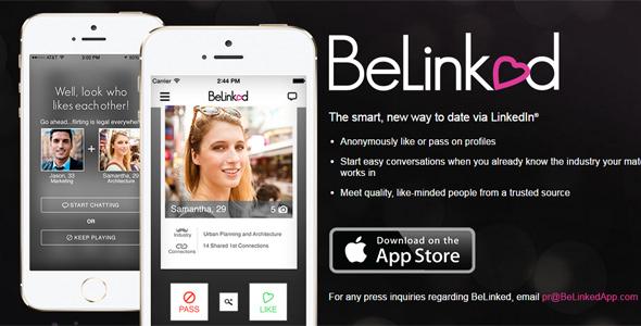 How BeLinked works screenshot